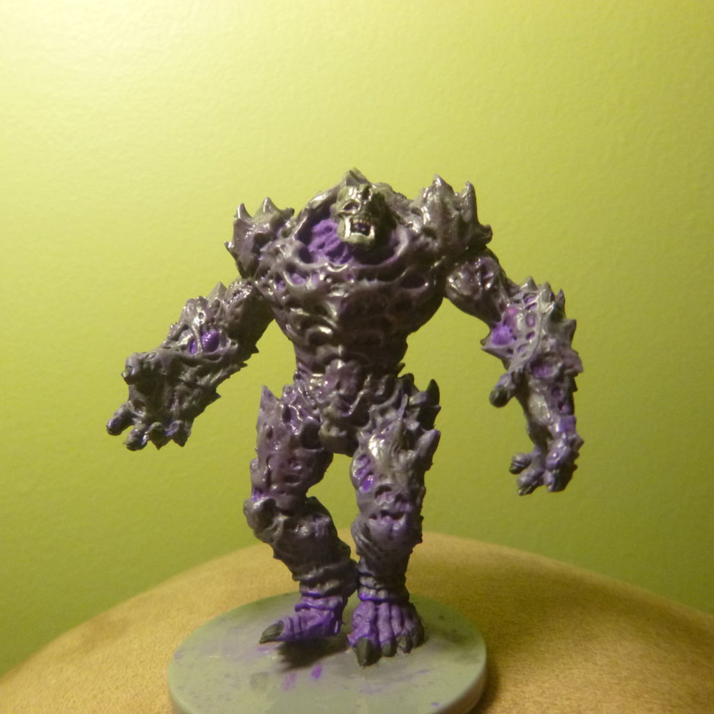 Painted Plague 1st Gen with head alterations