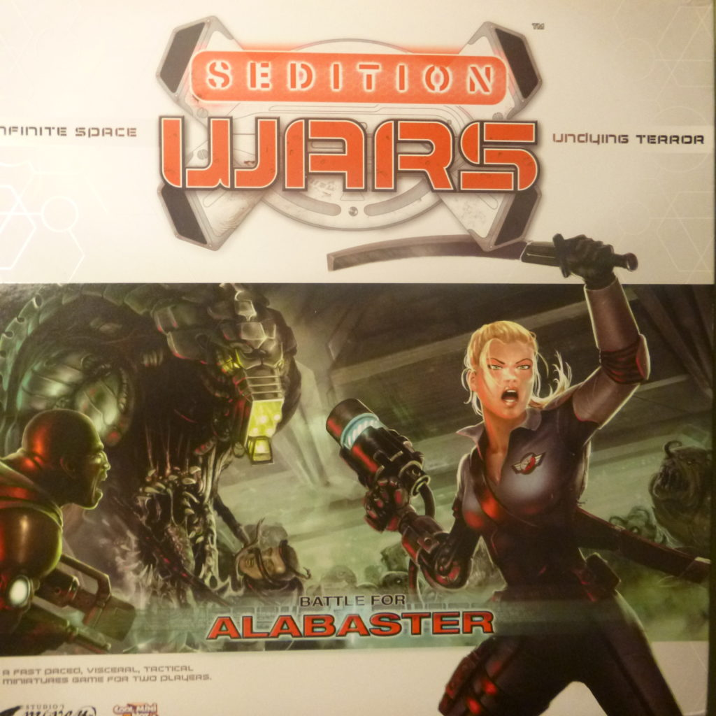 The front cover of Sedition Wars: Battle for Alabaster