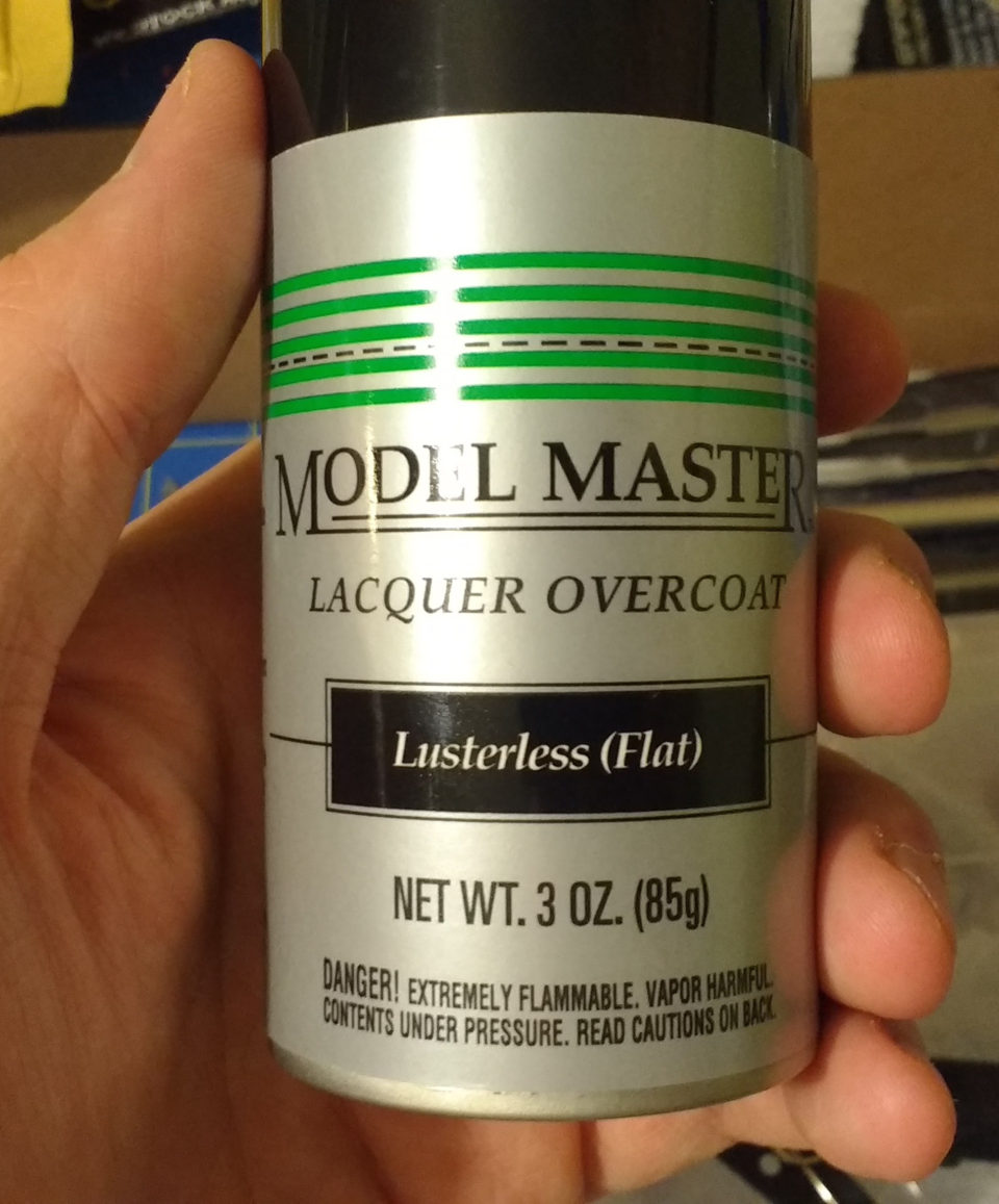 Spray Model Master Lacquer Overcoat