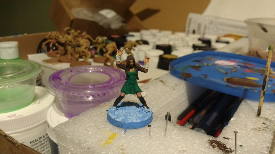 Jynx from Hasslefree Miniatures before finishing