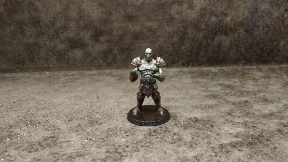 Custom miniature from Hero Forge of a Construct Brawler