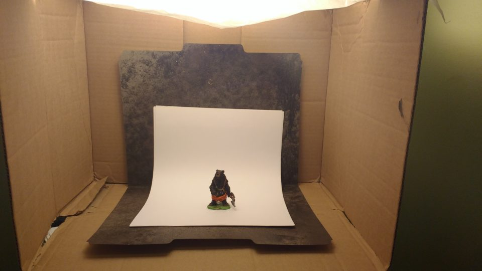 Werebear in Photobox