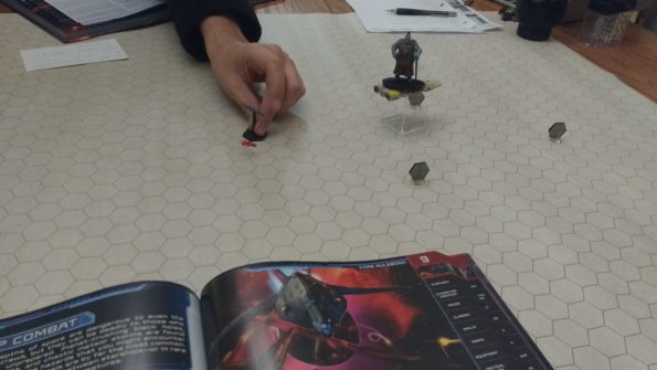 We did get the hang of maneuvering starships but still a lot of unknowns.
