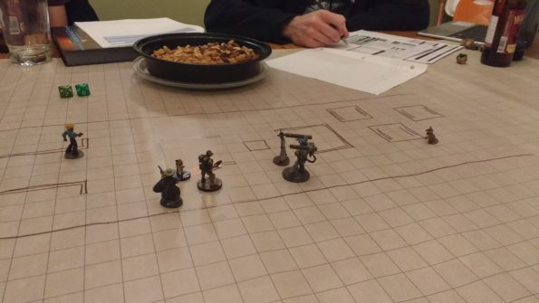 A third player hopped in to aid the group in combat.