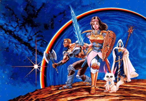 International Artwork for the original Phantasy Star