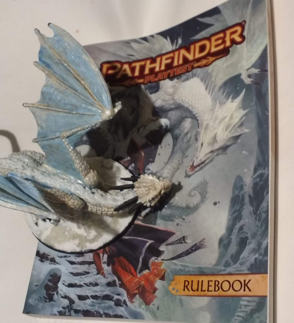 Pathfinder Second Edition Playtest Initial Review